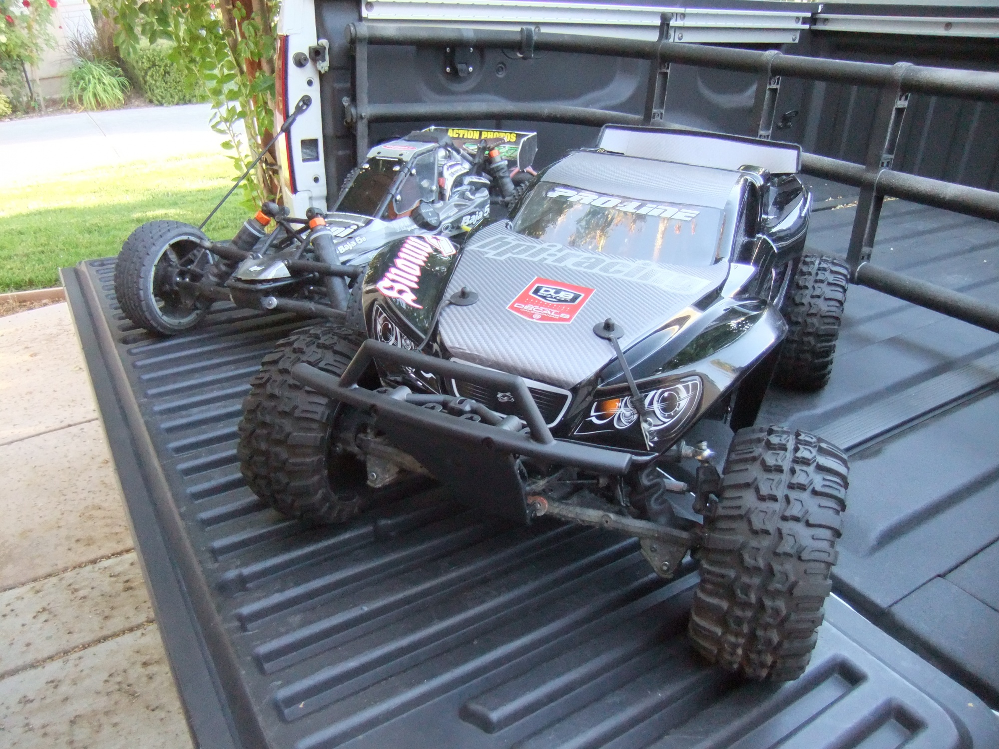 HPI Baja 5T Conversion Proline Desert Rat body