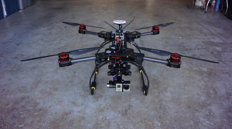 HJ-H4 Reptile Quadcopter Carbon Fiber Folding
