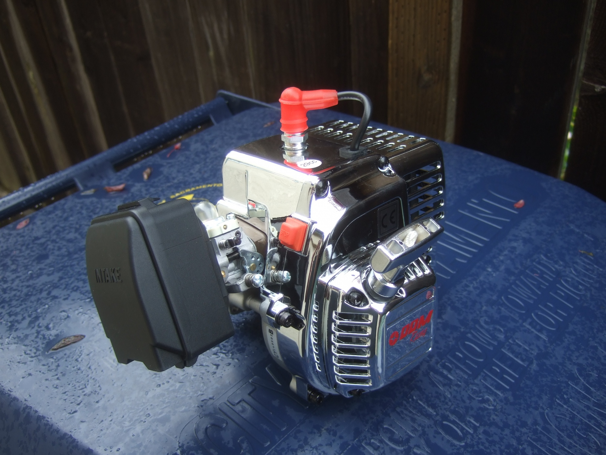CY29RC 3.5+ HP Engine w/ Stuffed Crank