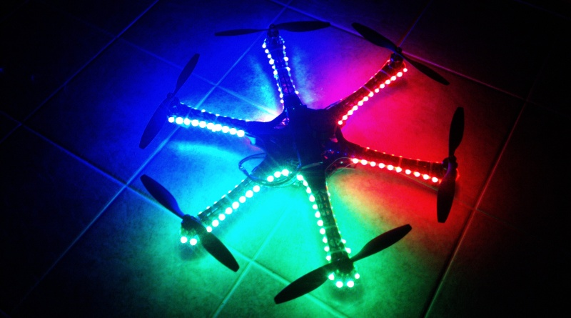 DJI F550 Flame Wheel Multirotor