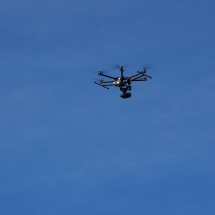 DJI Spreading Wings S900 Hexacopter At Folsom Lake