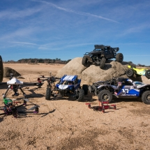 DJI Spreading Wings S900 Hexacopter HPI BAja 5B Losi 5ive 8ight ImmersionRC Vortex 285 At Folsom Lake