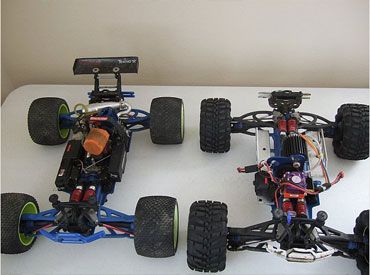 Traxxas Custom Brushless Revo Conversion Nitro 3.3 revo